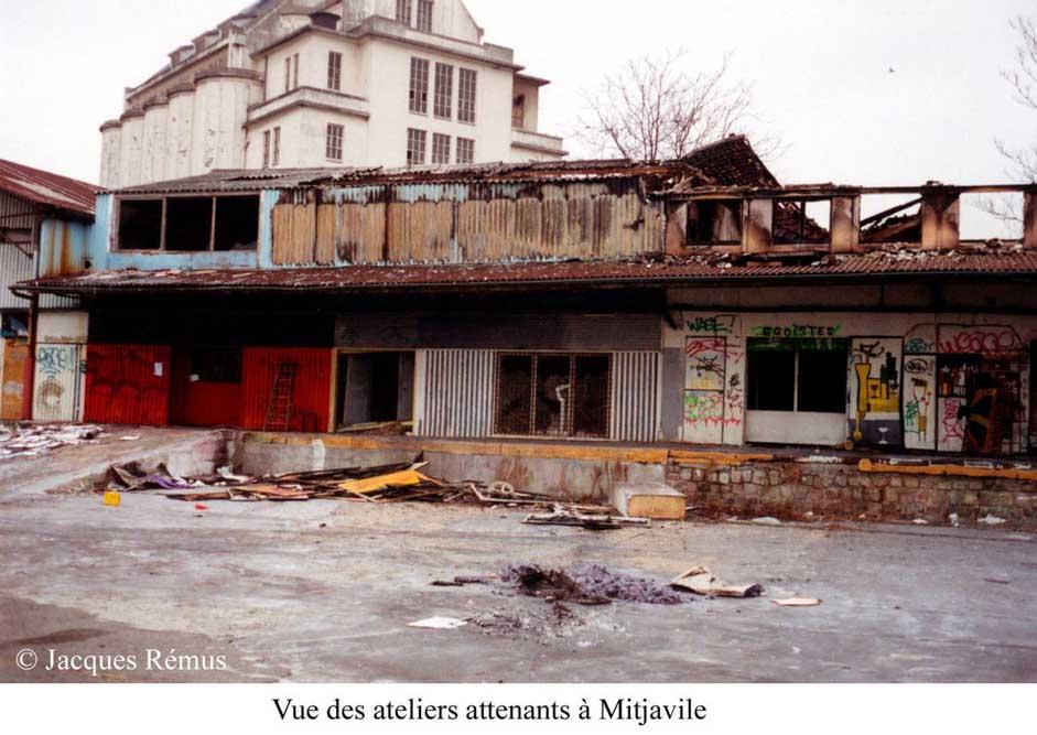 Les Frigos dans les années 80 par Jacques Rémus 2