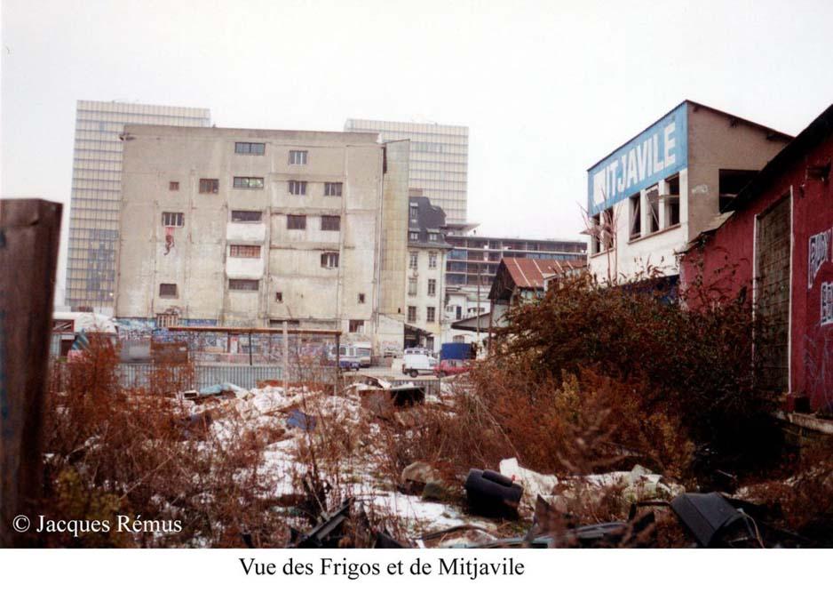 Les Frigos dans les années 80 par Jacques Rémus 5