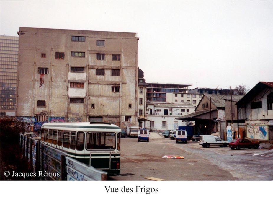 Les Frigos dans les années 80 par Jacques Rémus 7