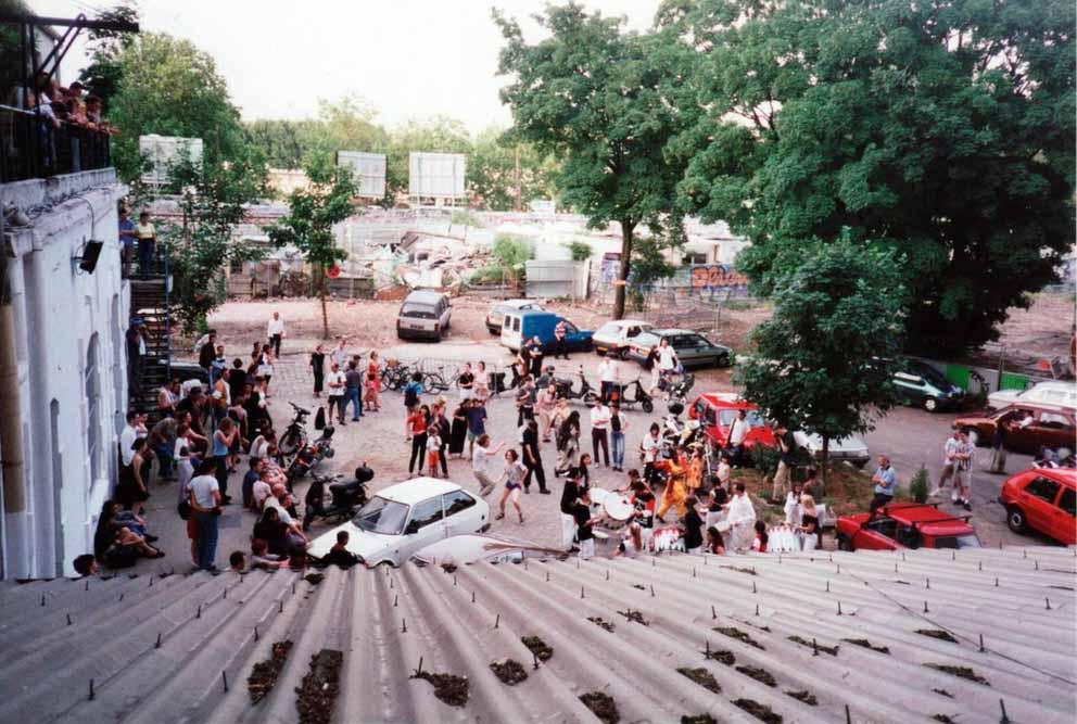 Les Frigos dans les années 90 par Jacques Rémus 2