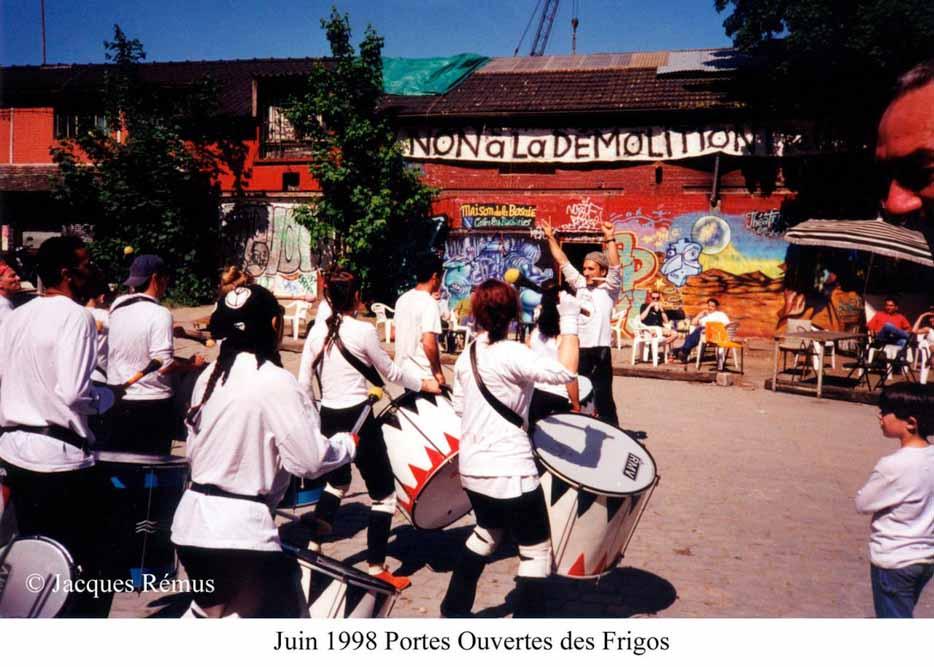 Les Frigos dans les années 90 par Jacques Rémus