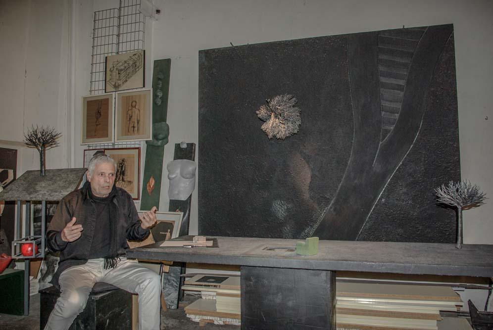 Réti dans son atelier par JBarret