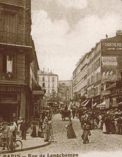 e au croisement de l'avenue Kléber vers 1910 @Parimagine
