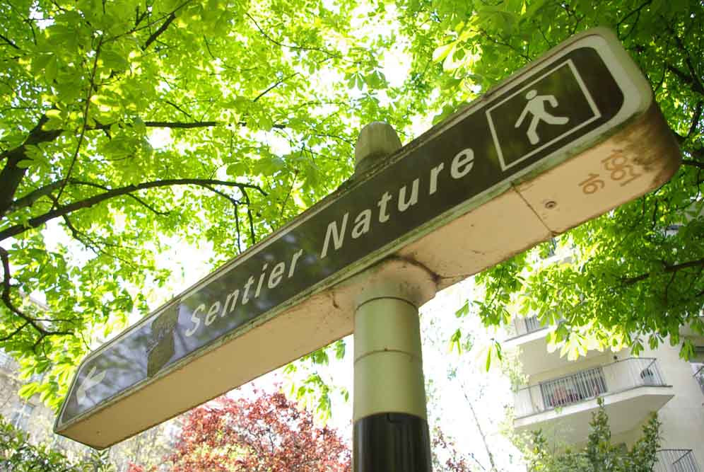 Reportage sur le Sentier Nature de la Petite Ceinture du 16e parJ.Barret-16