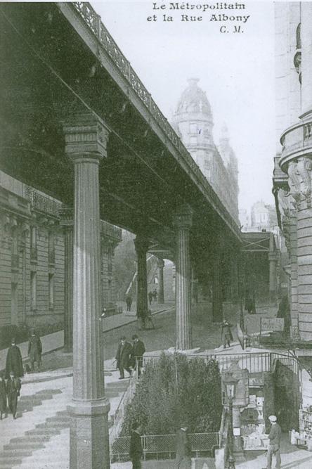 Avant-après : sous les piliers du viaduc de Passy