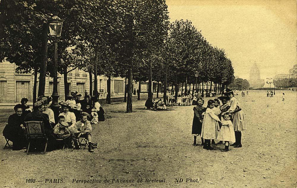 L'avenue de Breteuil, 114 ans plus tard