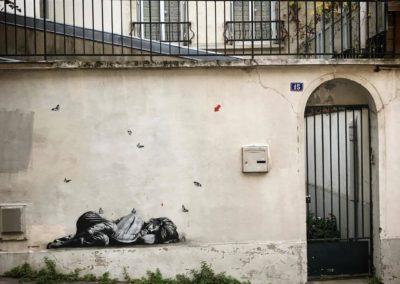 Buttes aux Cailles, Paris, 2017 @JefAérosol
