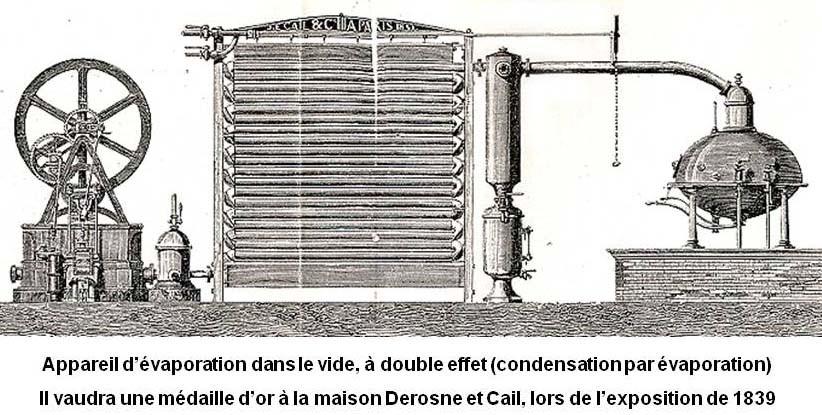 Appareil d'évaporation de Derosne et Cail @ Association C.A.I.L. Chef-Boutonne