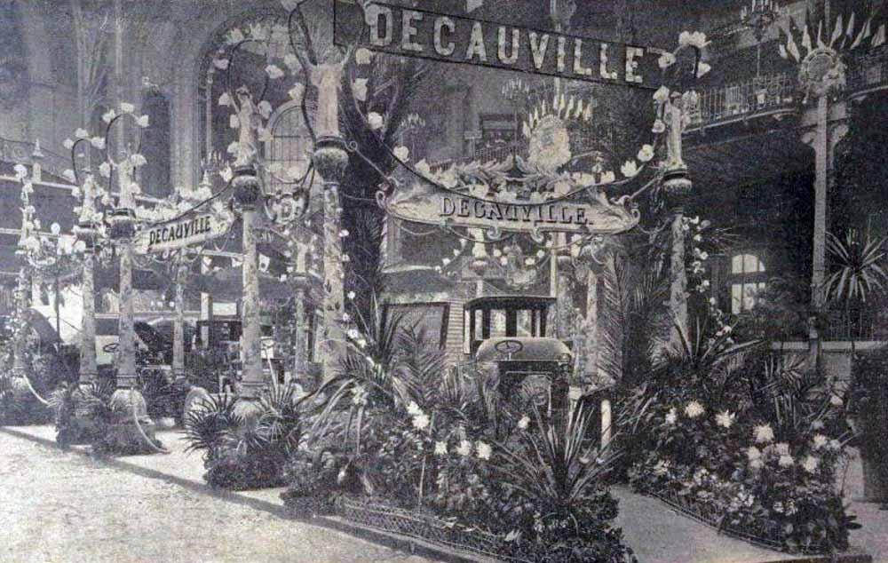 Decauville au Salon de l'Automobile en 1901 (La Vie au Grand Air du 22 décembre 1901)