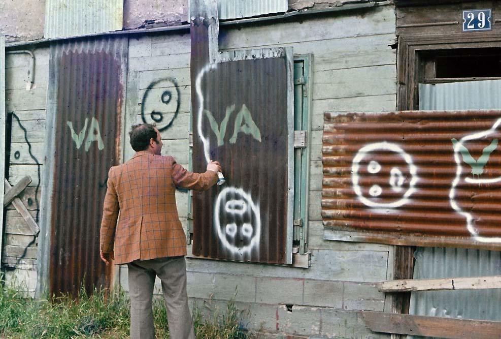 Rencontre avec Zloty, le premier street artiste au monde