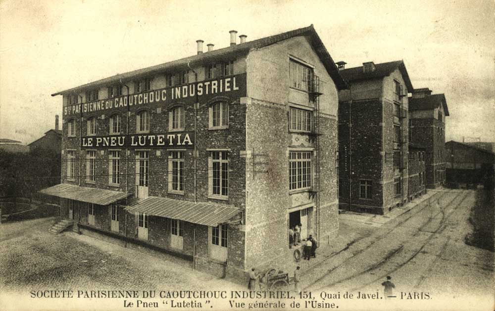 Société Le Pneu Lutétia vers 1910