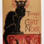 L'affiche de Steinlen pour la Tournée du Chat Noir de Rodolphe Salis - GoogleArtProject