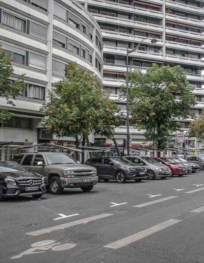 Photo prise du même angle en septembre 2019, avec les immeubles du Grand Pavois construits en 1971 © J.Barret