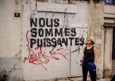 Rencontre avec Marguerite Stern, initiatrice des collages anti-féminicides