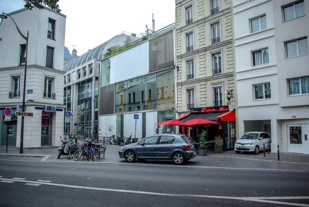 A la place de la crèche collective de la rue Malte-Brun se tenait un bar, le Perroquet vert @J.Barret
