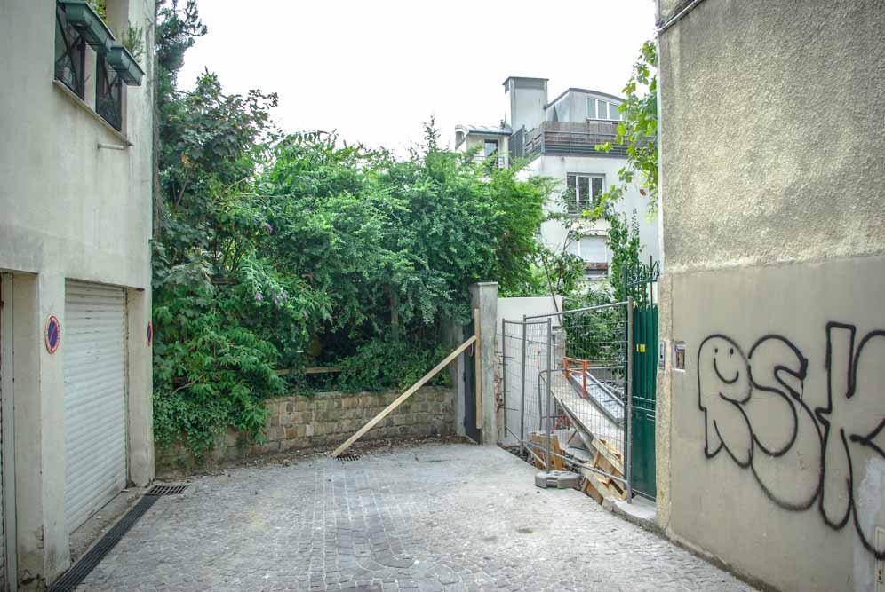 Un numéro de la Villa Souchet en travaux @J.Barret