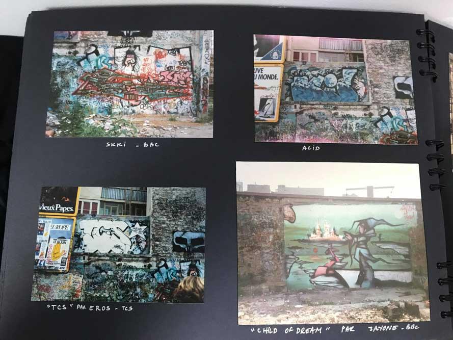 Images extraites du book de Nicolas TSM 1