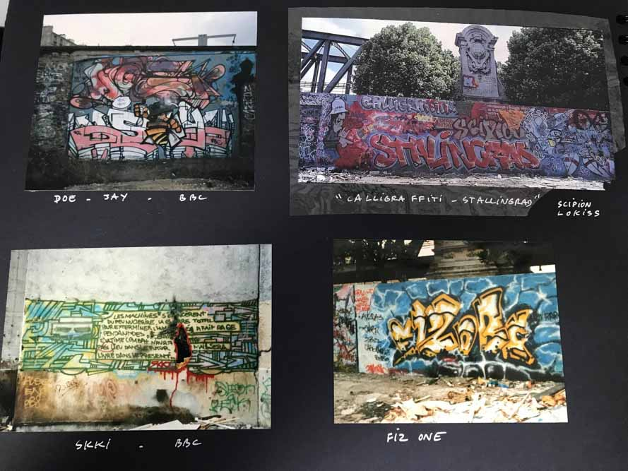 Images extraites du book de Nicolas TSM 2