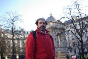 Tarek Ben Yakhlef sur la Place des Innocents @J.Barret