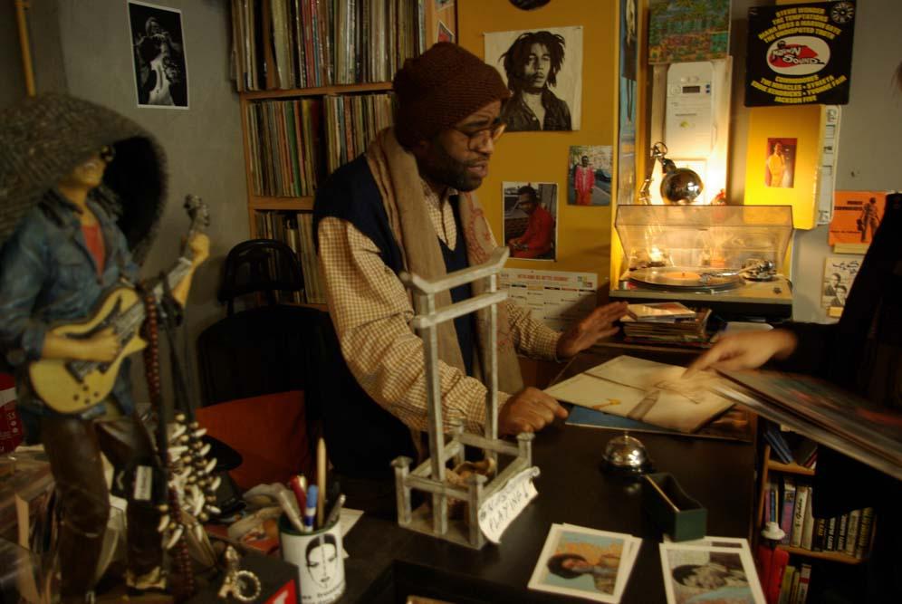 Jaurès, gérant de Soul Ableta, 47 rue Marcadet @JBarret