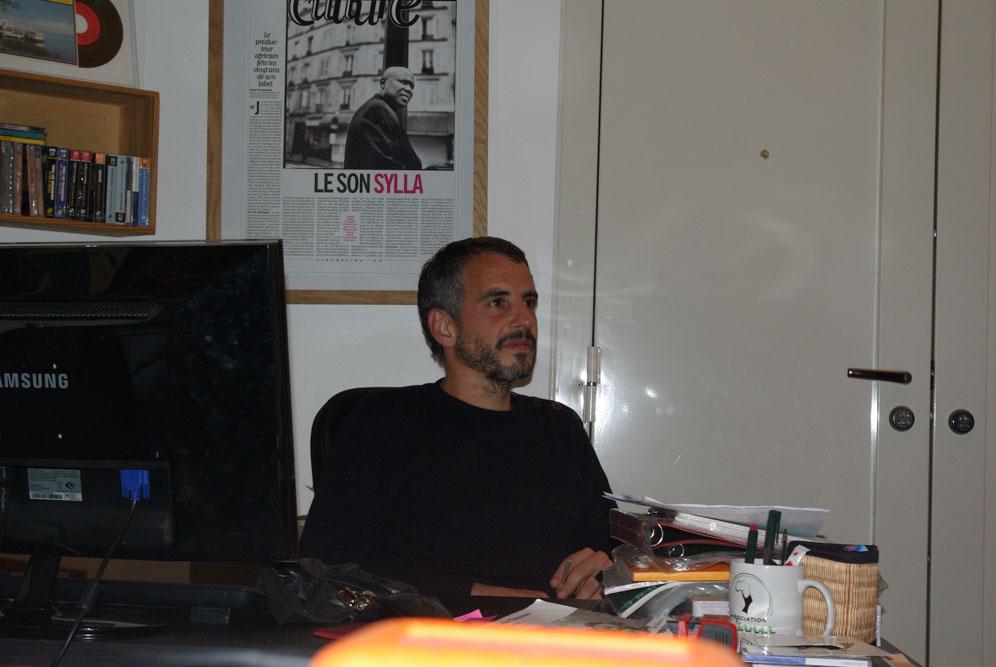 Julien Dayan, manager du label Syllart @JBarret