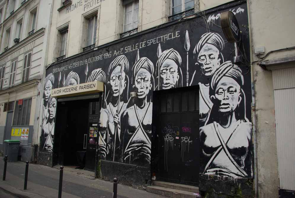Le Lavoir Moderne Parisien, 35 rue Léon @JBarret