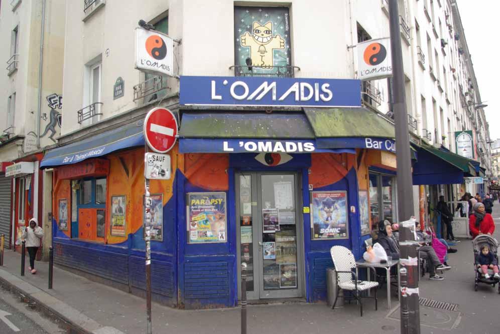 Le café musical L'Omadis, 43 rue Doudeauville @JBarret
