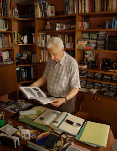 Dimitri Vicheney à son bureau en mai 2017 par J. Barret