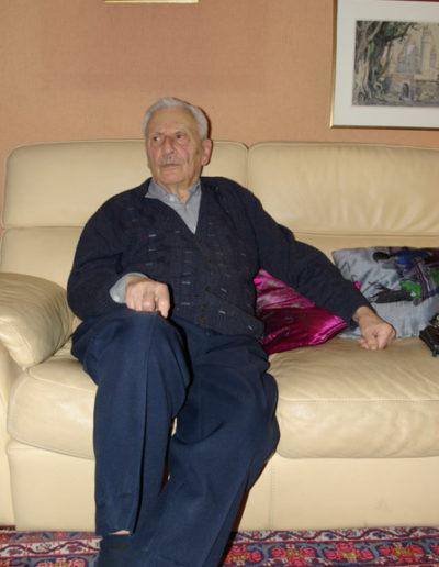 Dimitri Vicheney chez lui en novembre 2018 par J. Barret