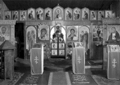 Iconostase de l'église Saint-Séraphin-de-Sarov (@Paroisse Saint-Séraphin-de-Sarov)