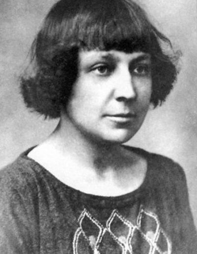 Marina Tsvétaéva vers 1924 (coll. part.)