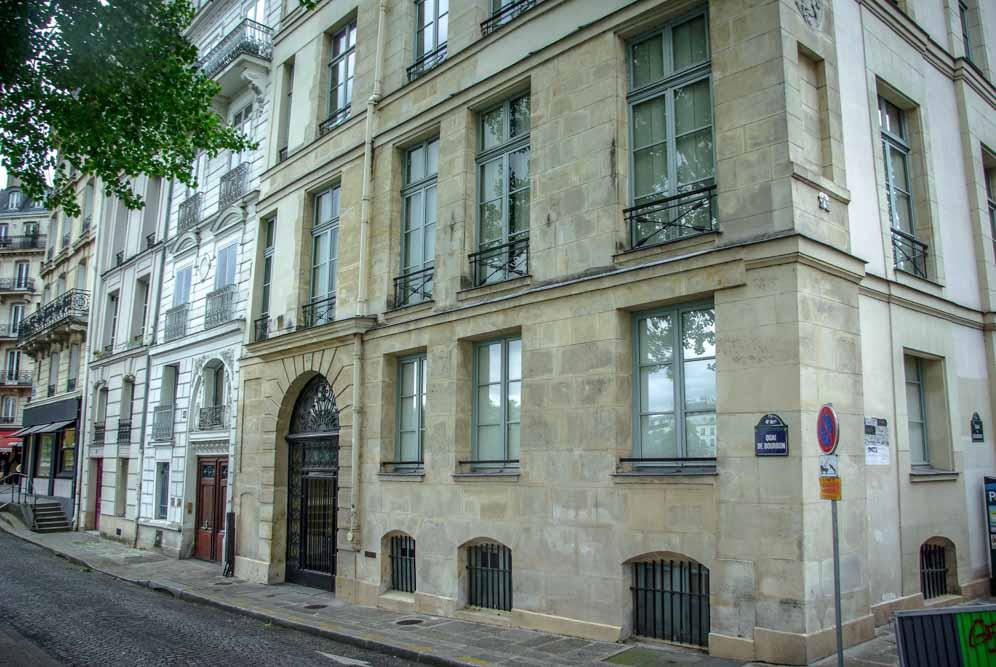 Les immeubles des 41.43 45 quai de Bourbon par J Barret