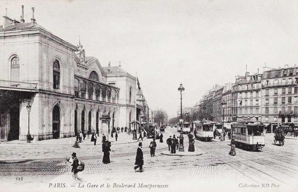 Montparnasse: de la gare au centre commercial