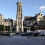 La Place Saint-Germain l'Auxerrois photographiée le 3 novembre 2020 @J.Barret