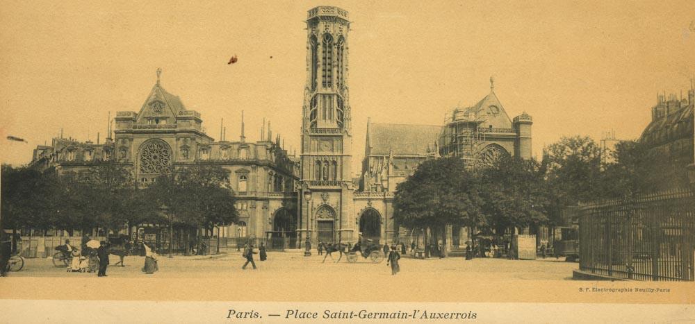 Saint-Germain-l'Auxerrois et sa mairie