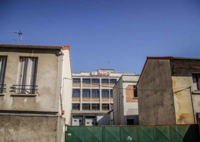 La façade des Salaisons Busso en mai 2018 @JBarret