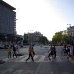 Le bâtiment du centre commercial Montparnasse Rive Gauche en septembre 2020 @J.Barret
