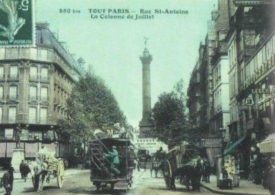 La rue Saint-Antoine résiste au temps