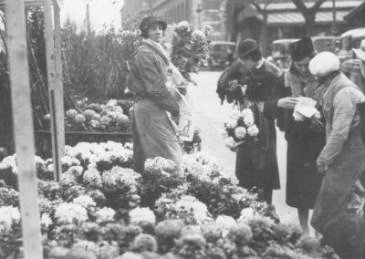 Le marché aux fleurs de la Cité