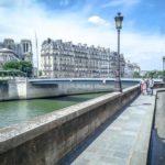 Le pont Saint-Louis vu du quai d'Orléans @JBarret