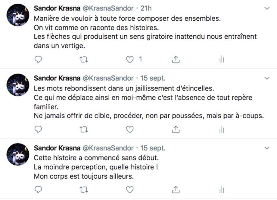 Bot poétique sur Twitter Mémoire Vive de Pierre Ménard
