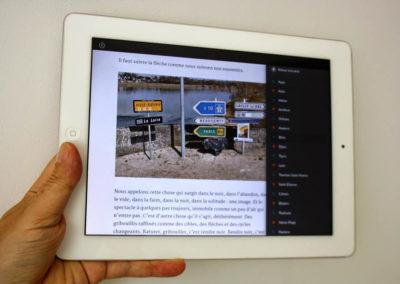 Livre numérique Laisse venir co-écrit avec Anne Savelli publié par La Marelle éditions