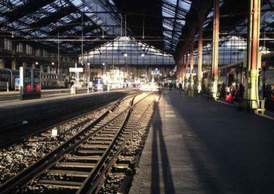 Gare de Lyon, Paris 12ème, photographie de Pierre Ménard