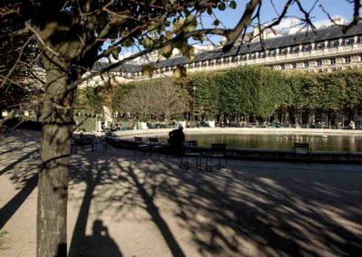 Les jardins du Palais Royal @J.Barret