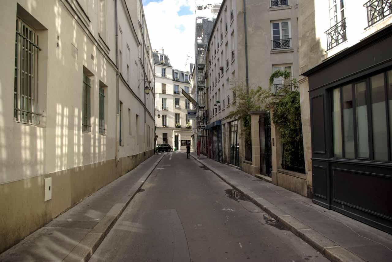 Perspective sur la rue de Normandie @J.Barret