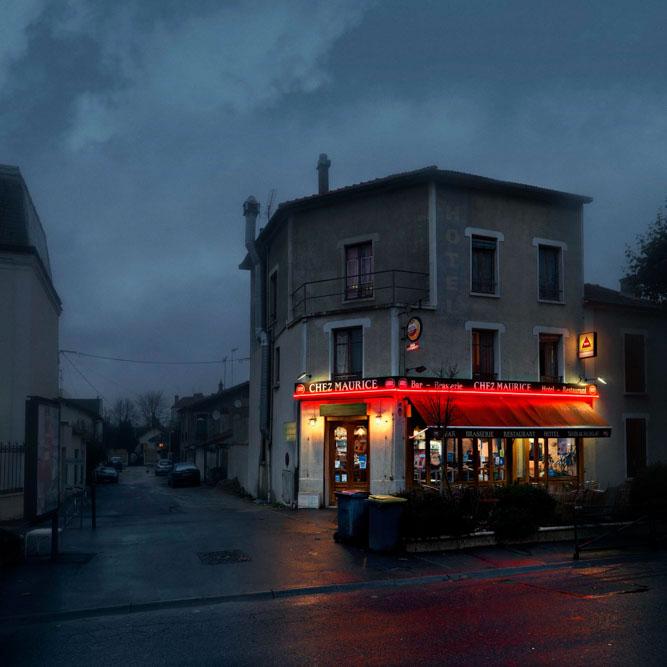 Chez Maurice, Le Perreux sur Marne, Série Red Lights @Blaise Arnold