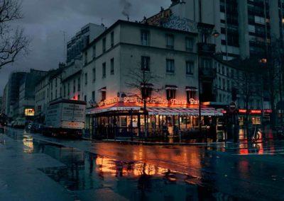La Halte des Taxis Paris XIII Série Red Lights @Blaise Arnold