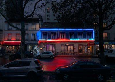 Le Cantal Paris XX Série Red Lights @Blaise Arnold