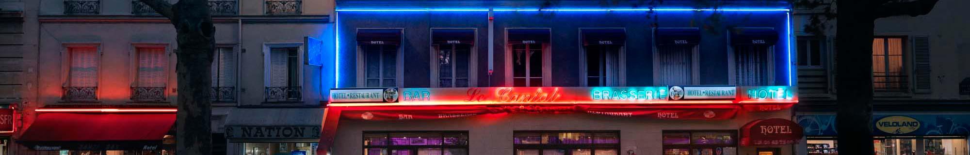 Détail d'une photo de Blaise Arnold, Le Cantal Paris XX