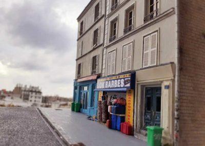 Maquette de Nicolas Pierre représentant un immeuble de la rue des Poissonniers @Nicolas Pierre